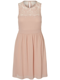 Vero Moda Jurk VMVANESSA SL SHORT DRESS NOOS 10193196 Misty Rose