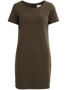 Vila Jurk VITINNY NEW S/S DRESS - NOOS 14032604 Ivy Green