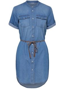 Jacqueline de Yong Jurk JDYSHINE 2/4 BELT DRESS WVN 15152424 Medium Blue Denim