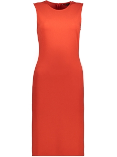 Vero Moda Jurk VMLARISSA S/L KNEE DRESS D2-3 10197614 Poppy Red