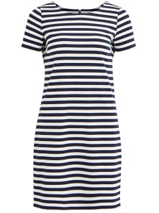 Vila Jurk VITINNY NEW S/S DRESS - NOOS 14032604 Snow white/TOTAL ECLI