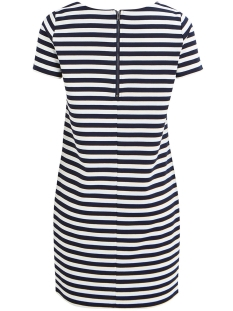 vitinny new s/s dress - noos 14032604 vila jurk snow white/total ecli