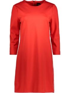 Only Jurk onlPOPTRASH PIPING DRESS 15155719 Flame Scarlet