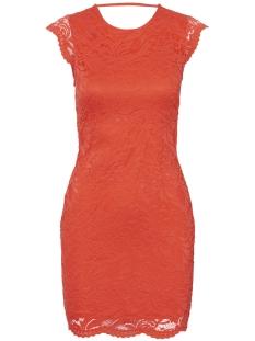Vero Moda Jurk VMSANDRA CAPSLEEVE DRESS 10197746 Poppy Red