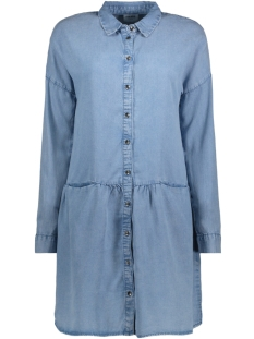 Vero Moda Jurk VMCELIA SHIRT DRESS GA 10197060 Light Blue Denim