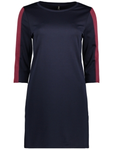 Only Jurk onlSUPER 3/4 DRESS JRS 15160978 Night Sky/CORDOVAN