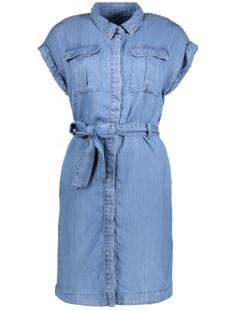 Vero Moda Jurk VMMISTY UTILITY SHIRT DRESS GA 10196697 Medium Blue Denim