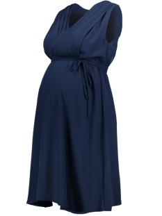 Mama-Licious Positie jurk MLYOLANDA MARY  S/L WOVEN DRESS NF 20006413 Black Iris