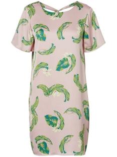 Vero Moda Jurk VMKATE SS DRESS 10197676 Sepia Rose/KATE PRINT