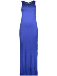 Only Jurk onlNEW INES S/L LONG PRINT DRESS JR 15159212 Dazzling Blue/SILVER