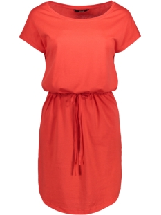 Only Jurk onlMAY S/S DRESS NOOS 15153021 Flame Scarlet