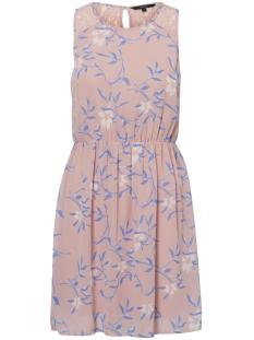 Vero Moda Jurk VMSHEA S/L LACE DETAIL DRESS D2-2 10196127 Zephyr/SHEA PRINT