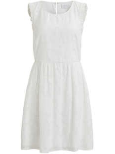 Vila Jurk VIPATTIE S/L DRESS 14045597 Cloud Dancer