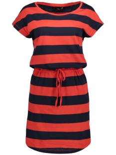 onlmay s/s dress noos 15153021 only jurk night sky / block high