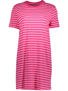 Only Jurk onlJUNE S/S DRESS BOX JRS  15152567 Pink Peacock/Bright