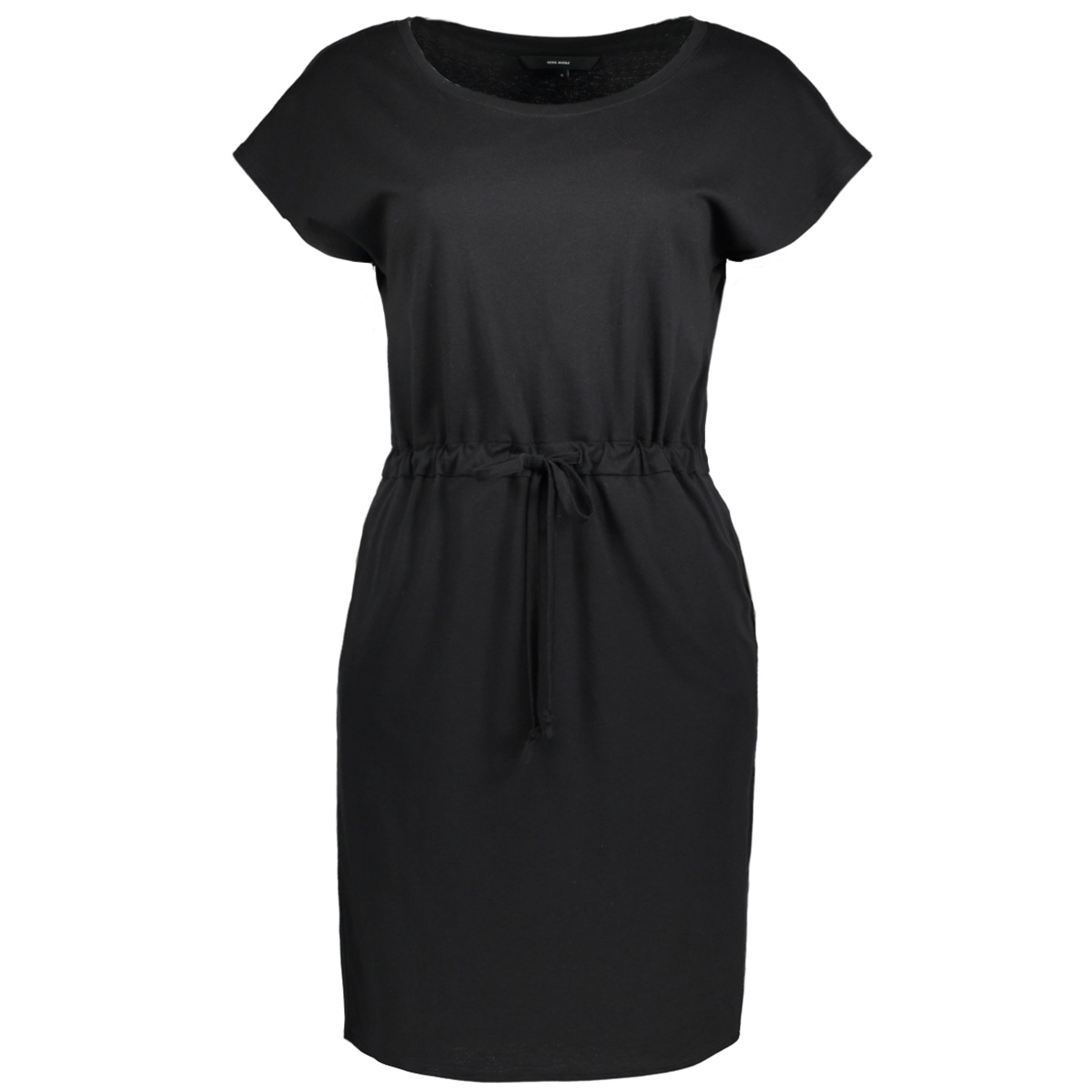 0b7804bdb817a7 vmapril ss short dress ga noos 10198244 vero moda jurk black