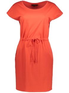 Vero Moda Jurk VMAPRIL SS SHORT DRESS GA NOOS 10198244 Poppy Red