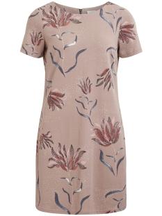 Vila Jurk VITINNY NEW S/S DRESS - LUX 14045885 Adobe Rose