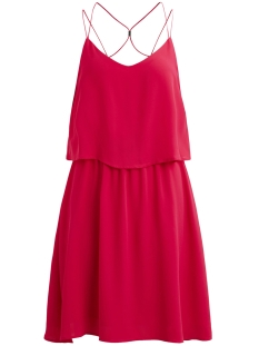 Object Jurk OBJANISTON S/L DRESS 96 23026288 Bright Rose
