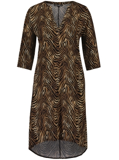 Juul & Belle Jurk TIGER V-NECK DRESS TIGER