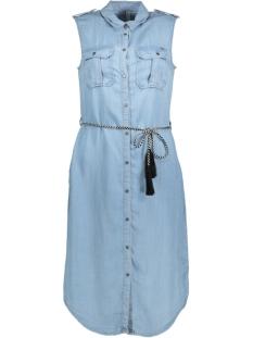 Only Jurk onlARIZONA S/L LT BLUE  SHIRT DRESS 15156544 Light Blue Denim