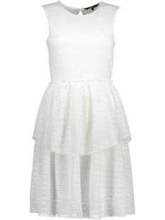 Vero Moda Jurk VMFAY S/L DRESS D2-4 10198189 Snow White