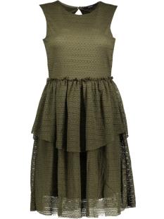Vero Moda Jurk VMFAY S/L DRESS D2-4 10198189 Ivy Green