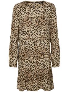 Vero Moda Jurk VMNYNNE LS DRESS 10199865 Curds Whey/LEO AOP