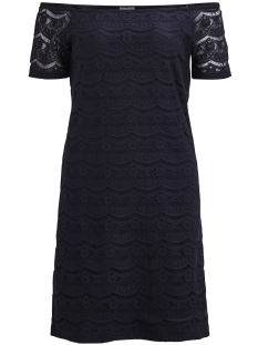 Vila Jurk VIMONIE LACE OFF-SHOULDER DRESS/1 14048474 Total Eclipse