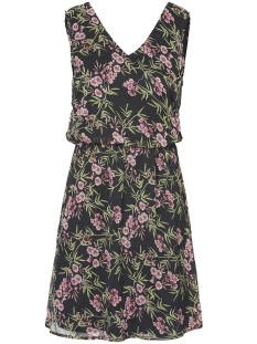 Vero Moda Jurk VMKAY SL SHORT DRESS 10198946 Black/ELENA PRIN