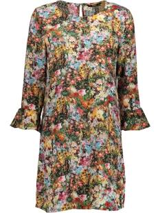 Only Jurk onlMASJA NOVA LUX WIDE SLEEVE DRESS 15163133 Black/MULTI FLOW