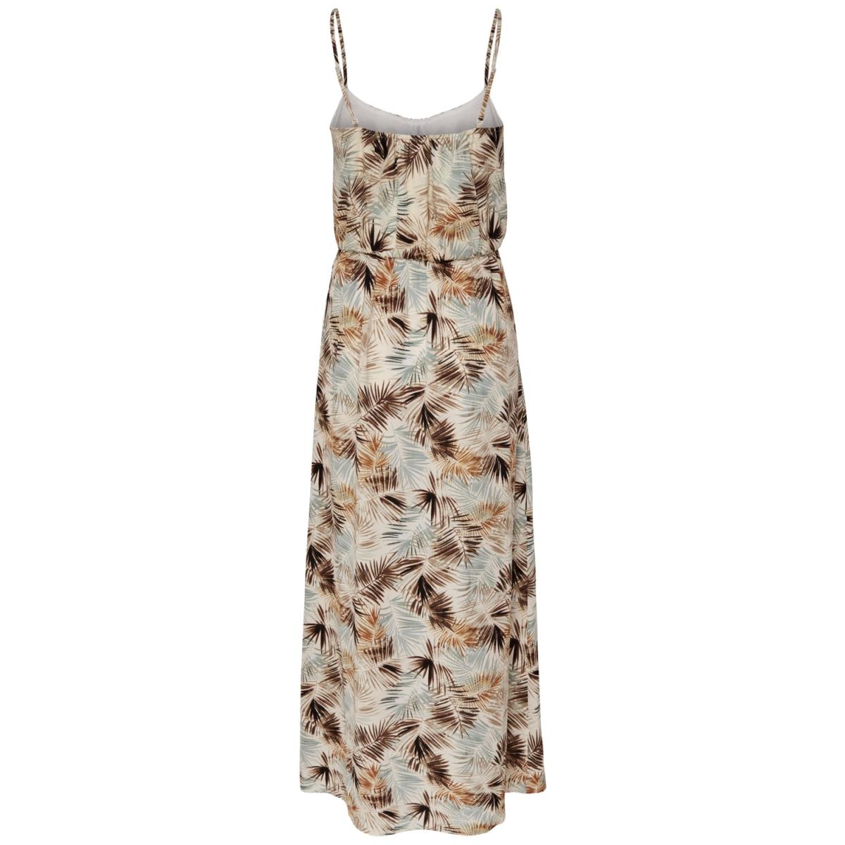 onlnova aop strap maxi dress lux wv 15158096 only jurk cloud dancer/summer leaf