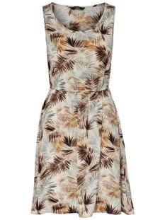 onlnova aop s/l sarah  dress lux wv 15158092 only jurk cloud dancer/summer lea