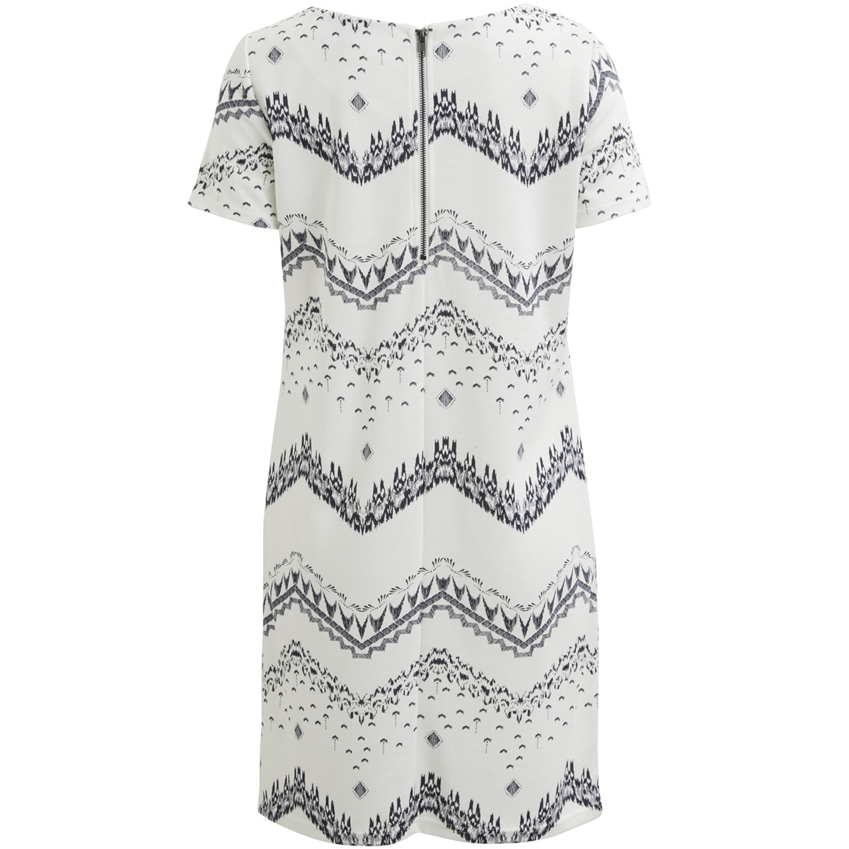 vitinny new s/s dress - lux 14045885 vila jurk cloud dancer/vimarula