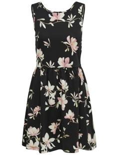 Only Jurk onlNIELLA S/L DRESS JRS 15169518 Black/Flowers