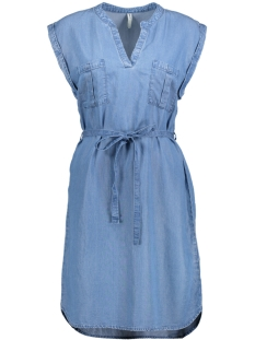 Only Jurk onlVERTIGO DNM DRESS QYT 15159249 Medium Blue Denim