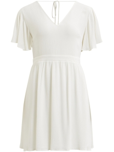 Vila Jurk VIGABRIANNA S/S DRESS 14048933 Cloud Dancer