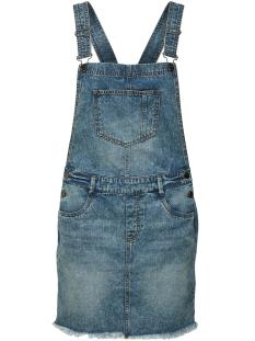 Jacqueline de Yong Jurk JDYCLEO SHORT SPENCER DRESS DNM 15152475 Medium Blue Denim
