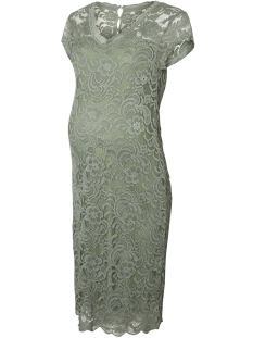 Mama-Licious Positie jurk MLNEWMIVANA CAP JERSEY DRESS 20006241 Green Bay