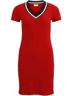 Vila Jurk VIMILENA S/S DRESS 14050417 Racing Red