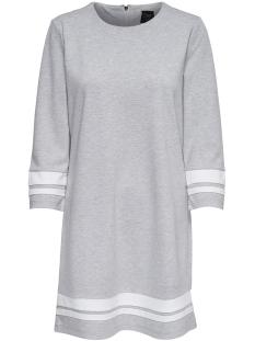 Only Jurk onlPOPTRASH EASY RETRO DRESS 15161049 Light Grey Melange