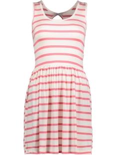 Only Jurk onlRINA S/L DRESS JRS 15157550 Sunkist Coral