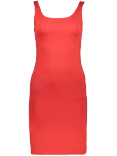 Only Jurk onlBRENDA S/L BODYCON DRESS JRS 15159607 Mars Red