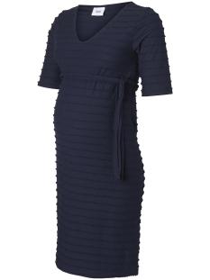 Mama-Licious Positie jurk MLFRIDA  2/4 JERSEY ABK DRESS 20008791 Navy Blazer