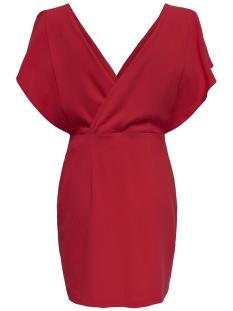 Only Jurk onlDEBRA S/L DRESS WVN 15159091 Goji Berry