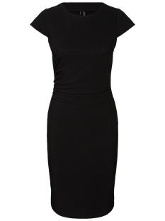 Vero Moda Jurk VMJONIE CAP SLEEVE ABK DRESS NOOS 10206411 Black