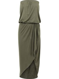 Urban Classics Jurk TB1508 BANDEAU DRESS OLIVE