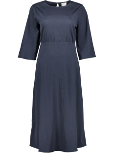 Vila Jurk VIBLAME 2/4 SLEEVE DRESS 14049570 Total Eclipse