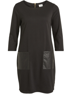 Vila Jurk VITINNY NEW POCKET DRESS-FAV NX 14048430 Black/W.BLACK