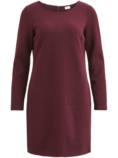 Vila Jurk VINAJA L/S DRESS-FAVNX 14048433 Winetasting